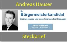 Steckbrief Andreas Hauser